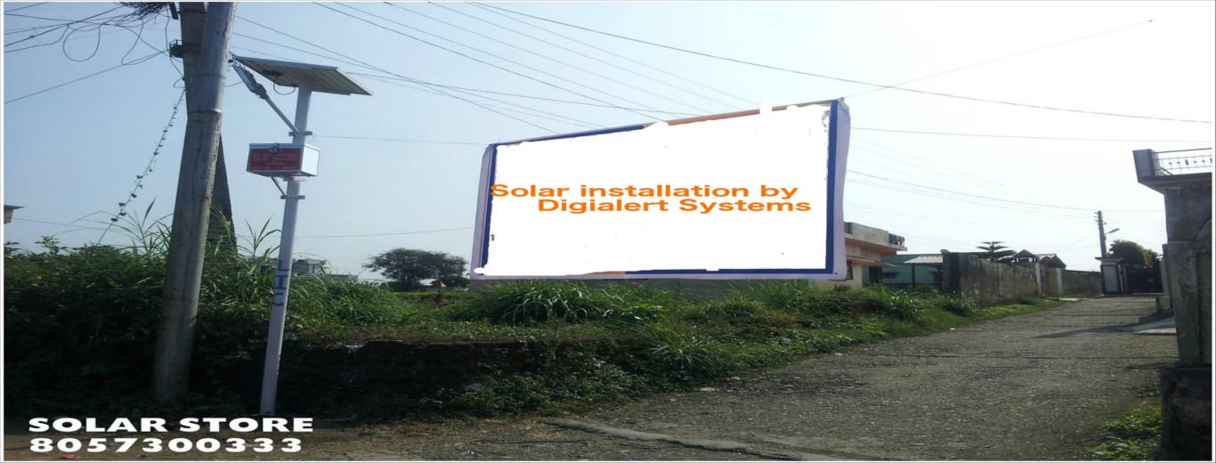Digialert System Solar Panel Installation Solar Water